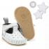 La Millou Moonies頂級羊皮膠底學步鞋禮盒11-18m_魔鬼氈款(沙士) 1