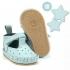La Millou Moonies頂級羊皮膠底學步鞋禮盒11-18m_魔鬼氈款(薄荷) 1