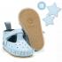 La Millou Moonies頂級羊皮膠底學步鞋禮盒11-18m_魔鬼氈款(蘇打) 1