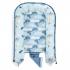 【此商品為預購品,10/9起出貨】La Millou Velvet頂級棉柔系列-嬰兒睡窩/床-法鬥飛行員(舒柔青) 3