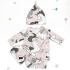 La Millou 新生兒彌月禮包屁衣2件組_3-6m-童話獨角獸+童話獨角獸(綠底) 2