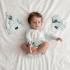 La Millou 新生兒彌月禮包屁衣2件組_3-6m-法鬥小甜心+芭蕾舞天鵝 2