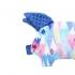 La Millou 豆豆小豬枕-莓果咕咕雞(加勒比海藍) 2