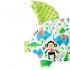 La Millou 豆豆小豬枕-歡樂拉拉猴(香草綠薄荷) 2