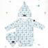 La Millou 新生兒彌月禮包屁衣帽巾全套組_3-6m-La Millou菱格紋 1