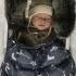 La Millou Aspen防水空氣時尚保暖推車睡袋-丘比特之箭(皇家)-舒柔純白 3