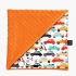 La Millou 單面巧柔豆豆毯(加大款)-法鬥噗噗車(葡萄柚橙橘) 1