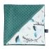 La Millou 單面巧柔豆豆毯(加大款)-藍色雪鳥(藍綠愛琴海) 1