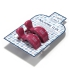 La Millou 北歐風多功能夾(沁甜莓果紅) 1