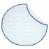 La Millou 竹纖涼感巾加大-圓形流蘇(莫比小白鯨) 1
