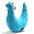 La Millou 豆豆護頸枕-黛安奶奶迷你雞(土耳其藍) 1