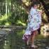 包巾-La Millou 竹纖涼感巾加大-圓形流蘇(天堂鳥花園) 2