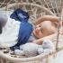 La Millou竹纖針織毯_三層(藍莓奶昔) 2