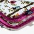 La Millou 暖膚豆豆毯(加大款)-樹屋貓頭鷹(沁甜莓果紅) 1