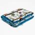 La Millou 暖膚豆豆毯(加大款)-樹屋貓頭鷹(土耳其藍) 2