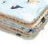 La Millou 暖膚豆豆毯(加大款)-法鬥飛行員(焦糖密斯朵) 1