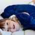 La Millou Velvet頂級棉柔系列-標準款暖膚毯80x100cm(舒柔藍) 2