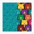 La Millou 單面巧柔豆豆毯-小熊軟糖(藍綠調色盤) 1