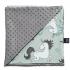 La Millou 送禮套組(竹纖涼感巾+單面巧柔豆豆毯)-贈送禮提袋 1