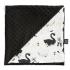 La Millou 單面巧柔豆豆毯(加大款)-芭蕾舞天鵝(法蘭黑炫風) 1