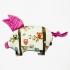 La Millou 豆豆小豬枕-Anna Mucha設計師限量款-樹屋貓頭鷹(沁甜莓果紅) 1