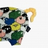 La Millou 豆豆小豬枕-朵朵綿羊糖(清恬芒果黃) 3