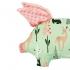 La Millou 豆豆小豬枕-限量款小鹿斑比(夢幻珊瑚粉) 2