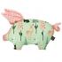 La Millou 豆豆小豬枕-限量款小鹿斑比(夢幻珊瑚粉) 1