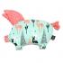 La Millou 安撫禮盒(小豬枕+巧柔豆豆毯-標準款)- 贈送禮提袋 1