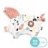 La Millou 豆豆小豬枕-動物交響樂(果漾蜜桃粉) 1