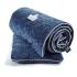 La Millou Velvet頂級棉柔系列-標準款暖膚毯80x100cm(舒柔藏青) 2