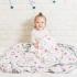 【2020限定聯名款】La Millou 單面巧柔豆豆毯-Hello Kitty貝殼公主篇(煙燻香草綠) 1