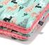 La Millou 暖膚豆豆毯-限量款小鹿斑比(夢幻珊瑚粉) 1