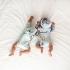 La Millou 新生兒彌月禮包屁衣2件組_3-6m-童話獨角獸(綠底)+法鬥飛行員 3