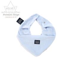 La Millou Velvet頂級棉柔圍兜領巾-舒柔淡藍