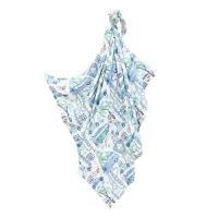 La Millou 包巾-竹纖涼感巾-彩繪公路66號