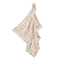 La Millou 包巾-竹纖涼感巾-旋轉小木馬(粉底)