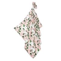 La Millou 包巾-竹纖涼感巾(格格牡丹花)