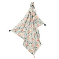 La Millou 包巾-竹纖涼感巾(加大)_140x110cm-春日小雛菊