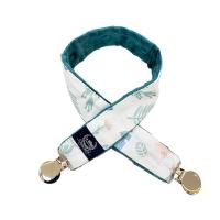 La Millou豆豆多功能防掉夾(50cm)-瑜珈珈樹懶-藍綠愛琴海