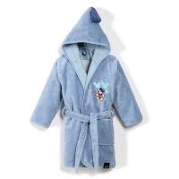 La Millou Jersey時尚篷篷浴袍_加大2.5-5Y- 氣球嘉年華(蒙地卡羅藍)