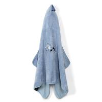 La Millou Jersey時尚篷篷浴巾_加大2Y-8Y- 頑皮搗蛋魚(蒙地卡羅藍)