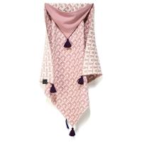 La Millou 針織篷篷衣-北極熊天天 (夢幻珊瑚粉)