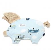 La Millou 豆豆小豬枕-法鬥飛行員(焦糖密斯朵)